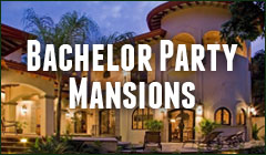 bachelor party mansion costa rica