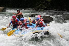 costa rica water rafting Costa Rica Bachelor Party Tour Guide