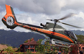 Helicopter Transportation  Bachelor Party Bay Costa Rica