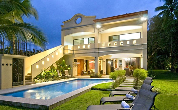 Vacation rentals mansions hotels house bachelor party for Costa rica house rental